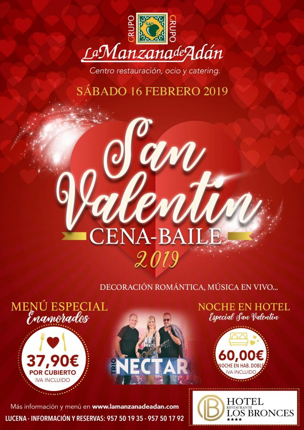 hoteles do cena de san valentin linear unit malaga